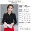 เสื้อชีฟองใหม่ สไตล์สาวเกาหลี ปกสูงแต่งด้วยลูกไม้ กับสีพื้นยอดนิยม ขาว - ดำ - แดง thumbnail 9