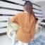 เดรสสั้นเกาหลี สำหรับสาวๆ ใส่ต้อนรับหน้าหนาว เน้อผ้าหนานุ่ม แขนยาว ปกป้องผิวจากลมหนาว thumbnail 3