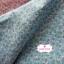 ผ้าคอตตอน 100% 1/4 ม.(50x55ซม.) ลายดอกไม้เล็กๆ โทนสีฟ้า thumbnail 3