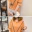 เสื้อแฟชั่น ทรงยาว ดีไซน์โบว์เส้นเล็กๆ เรียบง่าย ใส่ได้ทุกวัน thumbnail 4
