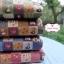 ผ้าคอตตอนไทย 100% 1/4 ม.(50x55ซม.) พื้นสีชมพู ลายตารางน้องซู thumbnail 2