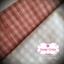 ผ้าทอญี่ปุ่น 1/4ม.(50x55ซม.)ลายตารางสีแดง thumbnail 2