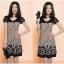 เดรสแฟชั่นเกาหลี สีสันและลวดลาย สวยเตะตา ใส่สบายด้วยผ้าที่บางเบาและยับบาก thumbnail 5