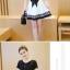เดรสแฟชั่นสวยใส สไตล์สาวเกาหลี กับสีทูโทนขาวดำ เพิ่มโบว์ขนาดใหญ่ให้น่ารักสมวัย thumbnail 7