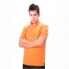 เสื้อโปโล Geeko ตรากวาง สีส้ม