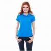 เสื้อโปโล Geeko ตรากวาง สีน้ำเงินอมฟ้า