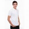 เสื้อโปโล Geeko ตรากวาง สีขาว