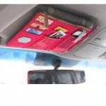 กระเป๋าใส่ที่บังแดดรถยนต์ เอนกประสงค์ สวย สะดวก วัสดุเกรด A พกพาง่าย
