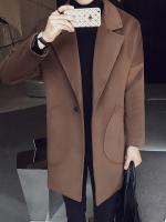 เสื้อโค้ทแจ็คเก็ตเกาหลี แต่งกระเป๋าเสื้อด้านล่าง มี3สี