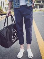 กางเกงขายาวเกาหลี ทรงตรง เรียบสวย มี4สี
