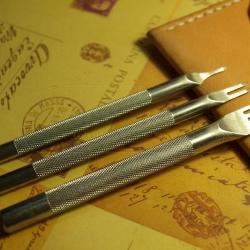 ชุดส้อมตอก 1+2+4 ฟัน ระยะความกว้างฟัน 1.5 มิล ระยะห่างฟัน 3 มิล