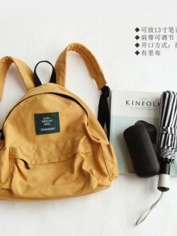 กระเป๋าเป้สะพายเกาหลี แต่งซิบซ่อน ดีไซน์เท่ มี6สี