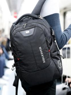 กระเป๋าสะพายหลังเกาหลี ดีไซน์ชั้นเก็บของแบบเลเยอร์ มี3สี