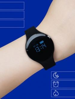 นาฬิกาข้อมืออัจฉริยะ ดีไซส์เรียบสวย สไตล์เกาหลี มี3สี