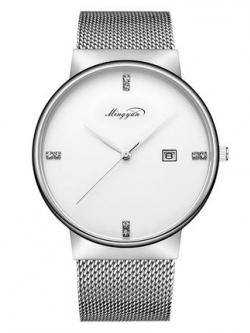 นาฬิกาข้อมือเกาหลี แนวยุโรป เรียบสวย มี3สี