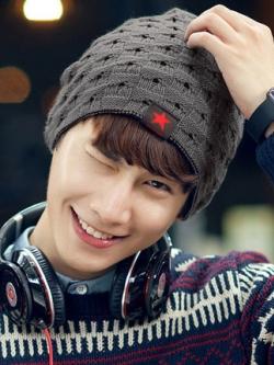 หมวกขนสัตว์เกาหลี แต่งรูปดาว อบอุ่นใส่สบาย มี7สี