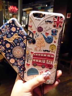 เคสไอโฟน/iPhone แต่งรูปการ์ตูน เก๋มาก มี2แบบ