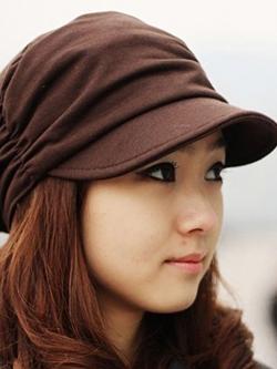 หมวกแฟชั่นเกาหลี สไตล์ลำลอง เรียบหรู มี3สี