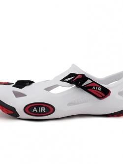 รองเท้าสวมเกาหลี แนวSport ดีไซน์ลายเว้า มี5สี