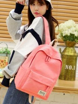 กระเป๋าเป้เกาหลี แนวเดินทางวัยใส สีสันสดใส มี8สี