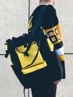 กระเป๋าสะพายหลังเกาหลี ความจุขนาดใหญ่ แนวฮิปฮอป มี4สี