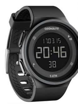 นาฬิกาข้อมือสีดำเกาหลี ดิจิตอลอัจฉริยะ GEONAUTE