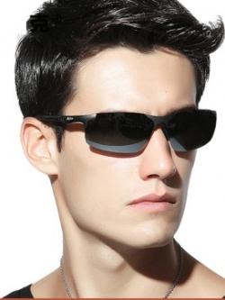 แว่นตากันแดดเกาหลี โพลาไรซ์ ทรงสวย แนว the matrix มี3สี