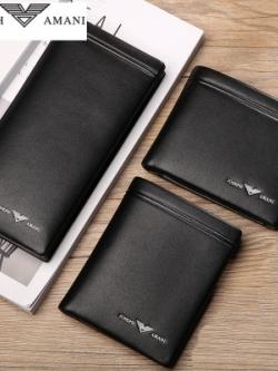 กระเป๋าตังค์สีดำเกาหลี JOSEPH AMANI สไตล์หรู มี3แบบ