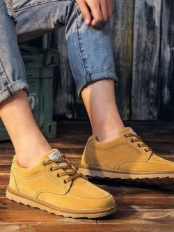 รองเท้าผ้าใบเกาหลี เชือกผูก ดีไซน์เรียบสวย มี3สี