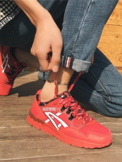 รองเท้าผ้าใบญี่ปุ่น แต่งแถบเส้น แนวSport มี3สี