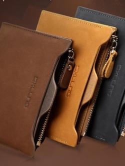 กระเป๋าสตางค์เกาหลี Sxllns เรียบสวย มีช่องเก็บของมากมาย มี3สี