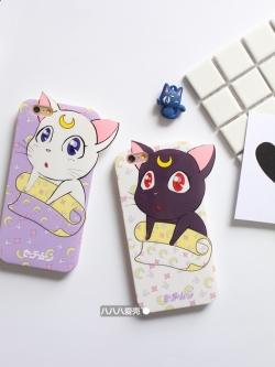 เคสไอโฟน 6/6S/6Plus เคสแมว Luna/Artemis เซเลอร์มูน เคส TPU iPhone6/6s/6Plus Case