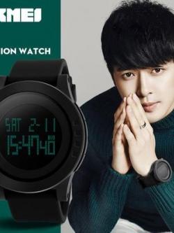 นาฬิกาข้อมือเกาหลี Skmei แนวดิจิตอลกันน้ำ มี2ขนาด