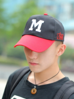 หมวกแก็ปเกาหลี ดีไซน์โลโก้ แนวเบสบอล มี4สี