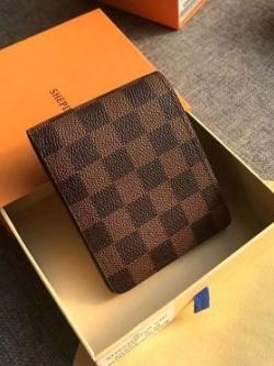 กระเป๋าสตางค์เกาหลี ลายตารางสก็อต มี2สี