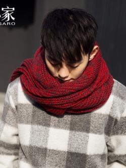 ผ้าพันคอเกาหลี ผ้าหนาอุ่นสบาย ดีไซน์ลายโมเดิร์น มี3สี