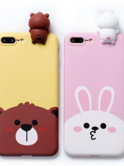 เคสไอโฟน 7/7Plus/6/6S/6Plus เคสซิลิโคนลายการ์ตูน Line/Moomin iPhone7/7Plus/6/6S/6Plus Case