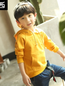 เสื้อฮู้ดแขนยาวแฟชั่นเกาหลี พิมพ์อักษรด้านหน้า มี3สี