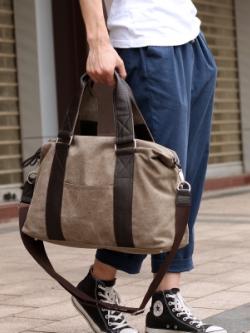 กระเป๋าสะพายข้างเกาหลี แบบสบายๆแนวลำลอง มี2สี