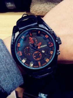 นาฬิกาข้อมือเกาหลี ดีไซน์หน้าปัด สไตล์แฟชั่น มี3สี