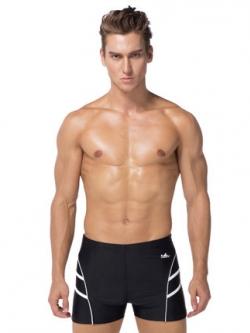 กางเกงว่ายน้ำเกาหลี แต่งแถบเส้นด้านข้าง มี2สี