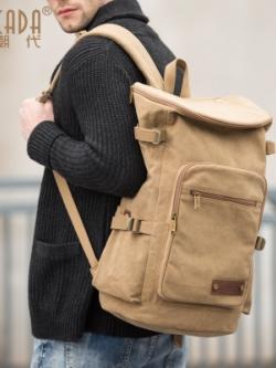 กระเป๋าเป้สะพายหลัง ความจุขนาดใหญ่ ทรงSport มี2สี