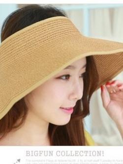 *** พร้อมส่ง *** หมวกไปเที่ยวทะเล/หมวกชายหาดสวยๆสไตล์สาวเกาหลีดีไซน์โบว์ด้านหลัง