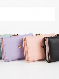 กระเป๋าสตางค์เกาหลี ดีไซน์เก๋ มีช่องเก็บเหรียญ มี4สี
