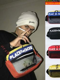 กระเป๋าสะพายข้างเกาหลี PLACES+FACES มี5สี