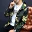 Pre Order เสื้อแจ็คเก็ตลายพราง แขนยาว มี HOOD สไตล์เกาหลี มี4สี thumbnail 3