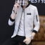 Pre Order เสื้อแจ็คเก็ตแขนยาว แฟชั่นเกาหลี แนวเบสบอล แขนแต่งกระเป๋า มี4สี thumbnail 4