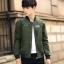 Pre Order เสื้อแจ็คเก็ตแนวเบสบอล แฟชั่นเกาหลี แขนยาวแต่งลายเท่ห์ มี2สี thumbnail 2