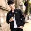 Pre Order เสื้อแจ็คเก็ตแนวเบสบอล แฟชั่นเกาหลี แขนยาวแต่งลายเท่ห์ มี2สี thumbnail 1