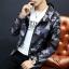 Pre Order เสื้อแจ็คเก็ตลายพราง แขนยาว มี HOOD สไตล์เกาหลี มี4สี thumbnail 1